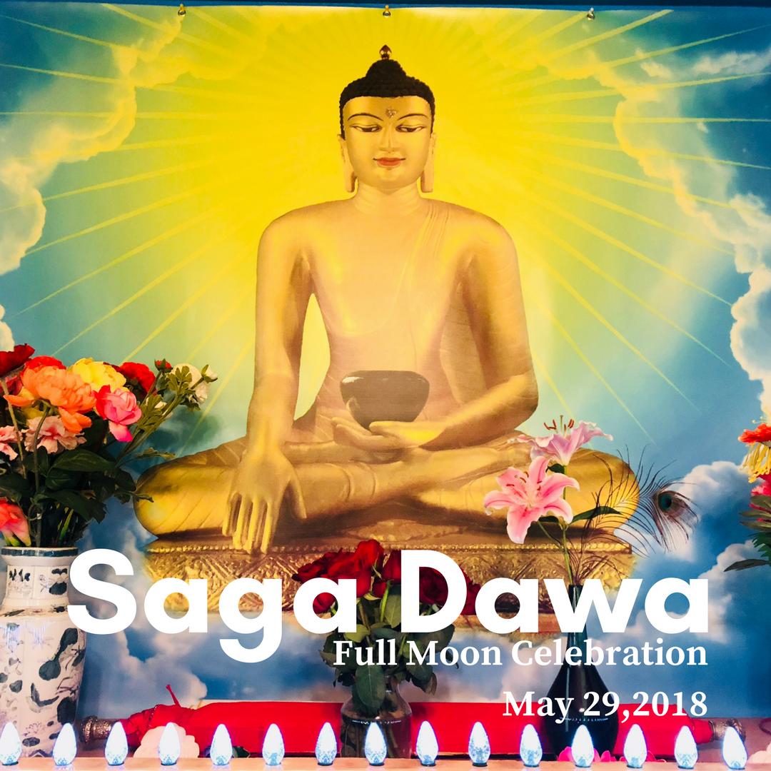 Saga Dawa Full Moon Celebration 2018