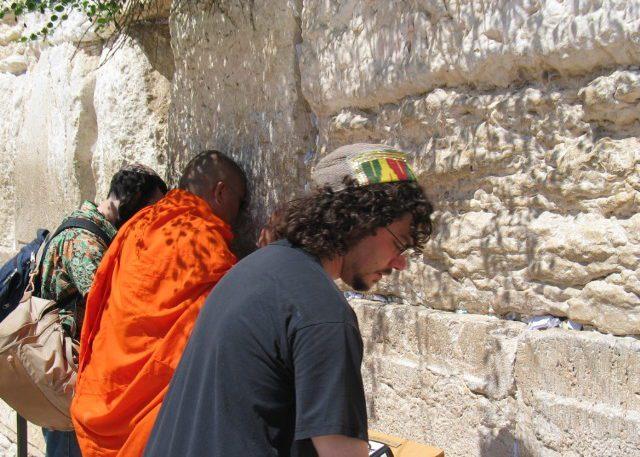Holy Wall in Jerusalem
