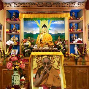 Tibetan Buddhist Altar Buddhist Institute
