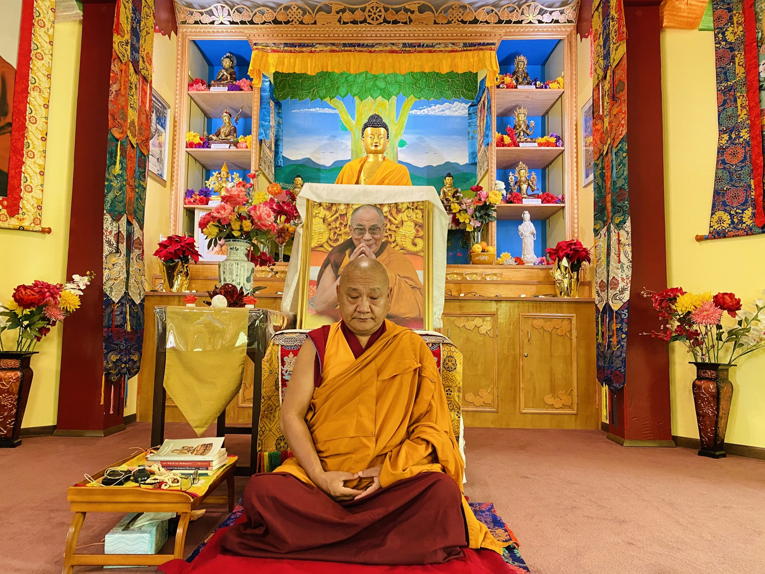 Buddhist Teaching & Meditation via Zoom