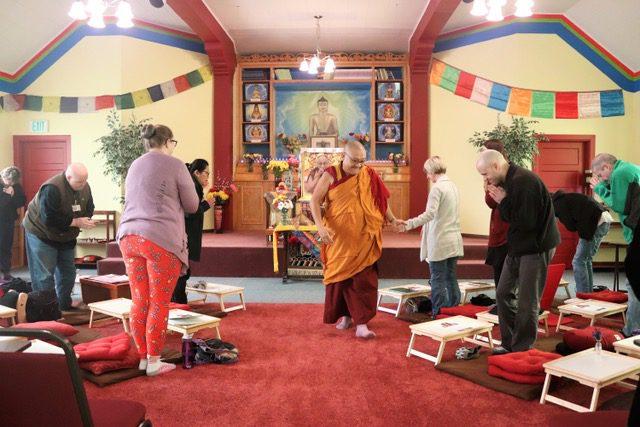 Geshe Phelgye teaches at the Buddhist Institute in Spokane