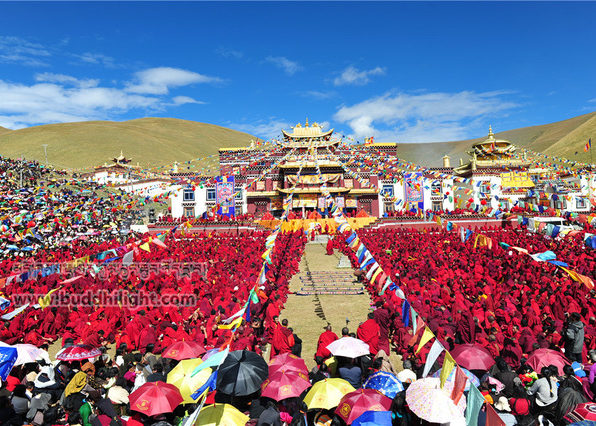 Great Prayer Festival Tibet