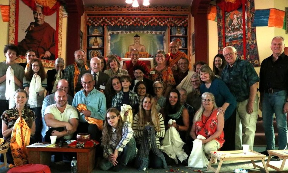 Buddhist Institute Sangha with H.E. Ling Rinpoche