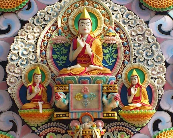 Tibetan Butter Sculpture